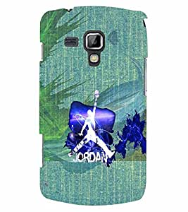 PrintVisa Sports Basketball 3D Hard Polycarbonate Designer Back Case Cover for Samsung Galaxy S Duos S7562