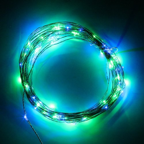 Supernight (Tm) Usb Powered Diy Led Copper Silver String For Festival Holiday Christmas Festival Halloween New Year Lighting Decoration