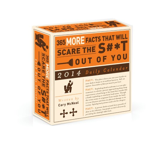 365 More Facts That Will Scare the S#*t Out of You 2014 Daily Calendar
