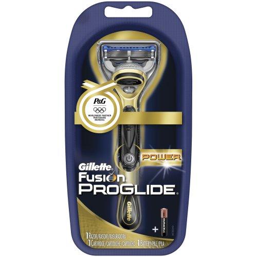 亚马逊美国Gillette Fusion Proglide Olympic 吉列锋隐电动刀架(1刀头)