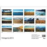 Patagonia 2014 calendario de pared DIN A3 español/inglés