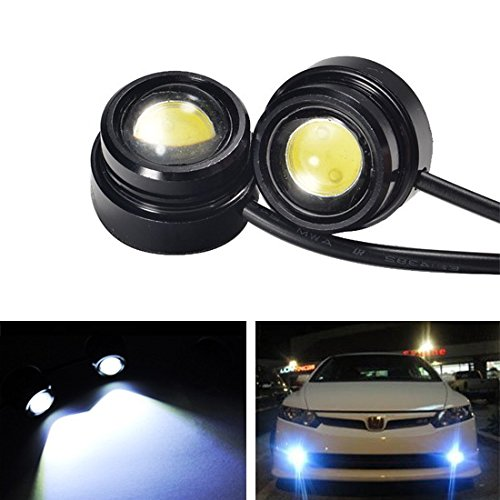 iJDMTOY High Power LED Eagle Eye Bulbs For Parking Light, Fog Lights, Xenon White (04 Wrx Fog Lights compare prices)
