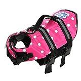 Assorted Color Choice Pet Dog Saver Life Vest Coat Flotation Float Life Jacket Aid Buoyancy X-Small