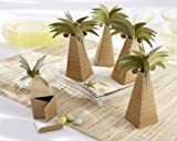 Palm Tree Favor Box Set of 24 (Set of 48)
