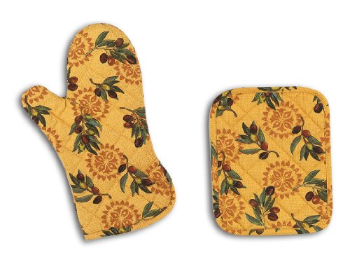 Kay Dee Designs Oven Mitt and Potholder Set,