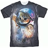 Space Cat Astronaut T-Shirt