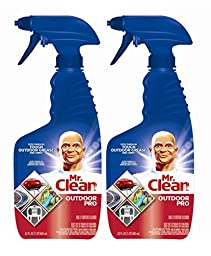 2 Pk, Mr. Clean Outdoor Pro Multi-surface Cleaner, 22 Fl Oz Each