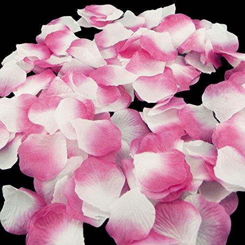 Magik-1000-St-Seiden-Blumen-Rosenbltter-Hochzeit-Party-Tischdekorationen-verschiedene-Mglichkeiten-Sakura-White