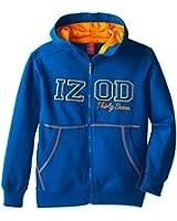 IZOD Big Boys' Basic Fleece Full-Zip Hoodie