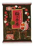 亀田製菓 梅の香巻 19枚×12袋