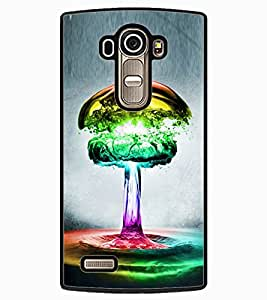 ColourCraft Creative Colourful Design Back Case Cover for LG G4