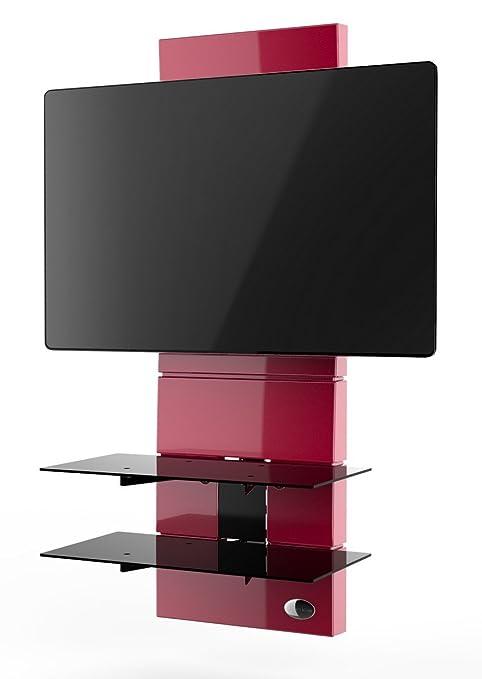 Meliconi Ghost Design 3000 Meuble pour TV Rouge