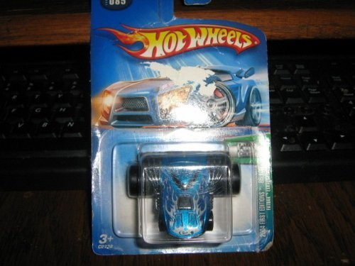 Hot Wheels 2004 First Editions 85/100 Fatbax Exhausted 1:64 Scale