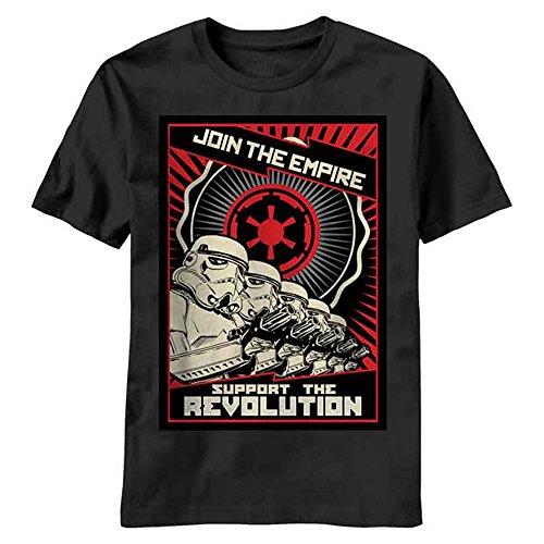 T-Shirt - Star Wars - Revolution - Black - XL