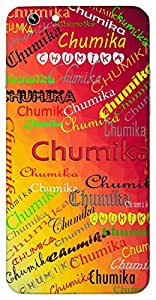 Chumika (Glowing Princess) Name & Sign Printed All over customize & Personalized!! Protective back cover for your Smart Phone : Apple iPhone 7