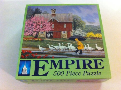 "Empire 500 Piece Puzzle ""Puddle Jumpers"""
