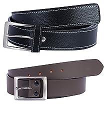 Hardy's Collection Men's Belt (Hardy-523_Black_36)
