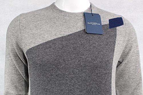 Ballantyne Pullover A/I 16-17 Mod. H2P000 12W75 Blue-M.Grey-L.Grey - 52