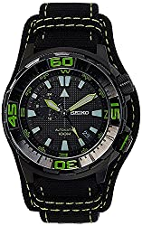 Seiko Superior Analog Black Dial Mens Watch - SSA059K1