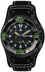 Seiko Superior Analog Black Dial Mens Watch - SSA059K1