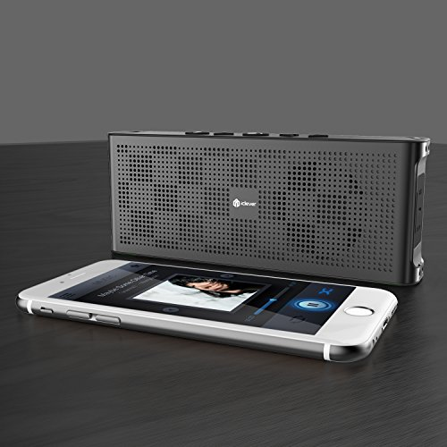 Pocket sized speaker iclever ultra slim portable for Perfect bake bluetooth
