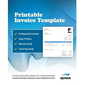 Professional Invoice Template (3 month online subscription) by Aynax (MAC) [Download]