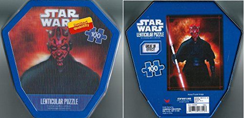 Star Wars Lenticular Puzzle 100 Peices - 1 of 2 Styles Available - 1