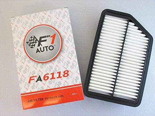 F1AUTO FA6118 FLAT PANEL ENGINE AIR FILTER (2012 Tucson Air Filter compare prices)