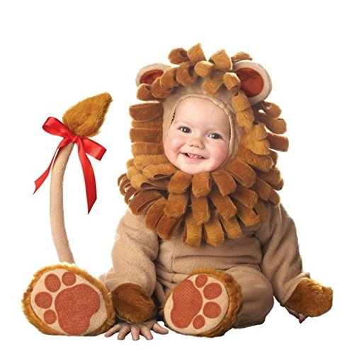XWHT Baby's Infant The Lion King Costume Outfits Onesie Halloween Cosplay