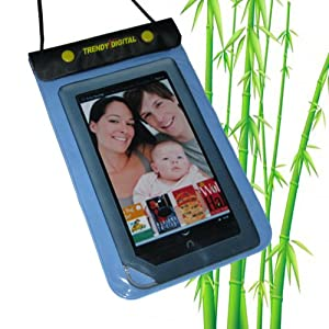 TrendyDigital WaterGuard Waterproof Case for Nook Tablet / Nook Color / Nook eBook Reader from Barnes & Noble (Blue)
