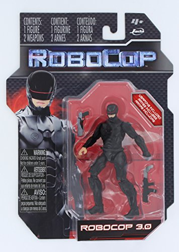 RoboCop 3.0 3.75 Inch Action Figure, Black Version - 1