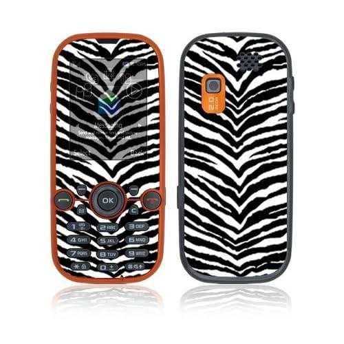 Black Zebra Skin Decorative Skin Cover Decal Sticker for Samsung Gravity 2 SGH T469 Cell Phone