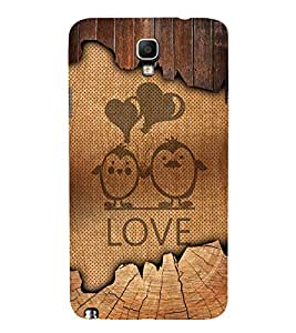 Love Balloon Design 3D Hard Polycarbonate Designer Back Case Cover for Samsung Galaxy Note 3 Neo N7505