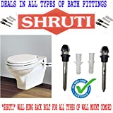 SHRUTI Wall Hung / Wall Mount Toilet Comord Rack Bolt Stand / Set ( SS 204 Grade with Heavy Duty)- 1579