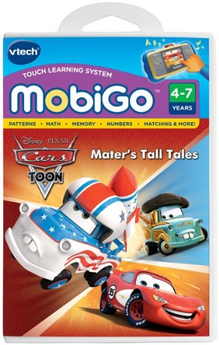 VTech - MobiGo Software - Disney's Cars - Mater's Tall Tales
