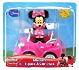 Fisher-Price Disney Mickey Mouse Clubhouse Minnie's Figure & Car Pack
