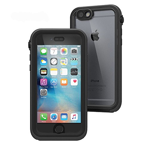 日本正規代理店品catalyst iPhone 6s/6 5m完全防水 / 防塵 /耐衝撃ケース ブラック  CT-WPIP154-BK