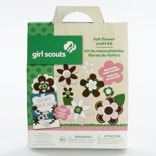 Girl Scouts Felt Flower Craft Kit - 1