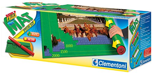 Clementoni - Tapete especial para armar puzzles (302970)