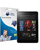 "Tech Armor Kindle Fire HD 8.9"" (2012 1st generation) High Defintion (HD) Clear Screen Protectors - Maximum Clarity and Touchscreen Accuracy [2-Pack] Lifetime Warranty"