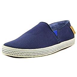Ted Baker Men\'s Leeno Slip-On Loafer, Dark Blue, 12 M US