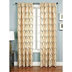 Softline Rayna Window Curtain Panel Home Kitchen