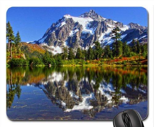 Mount Shucksan Cascades National Park, Washington Mouse Pad, Mousepad (Mountains Mouse Pad)