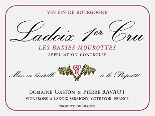 2010 Domaine Ravaut: Ladoix Premier Cru Les Basses Mourottes 750 Ml