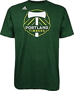 MLS Portland Timbers Logo Men's Set Tee, Large, Dark Green