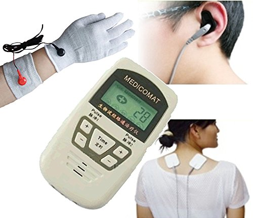 Pain Management And Treatment Medicomat-10F Conductive Cuff Wristlet Glove Acupuncture Treatment Of Lower Arm And Hand Pain