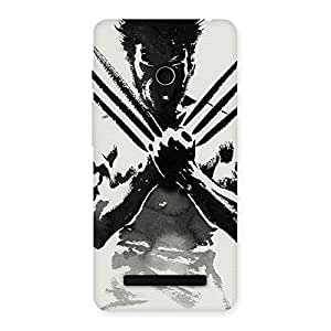 Ajay Enterprises Angry Wolf Shade Back Case Cover for Zenfone 5