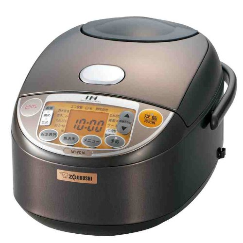 [Cook] 5.5 Integrated ZOJIRUSHI IH rice cooker Brown NP-VC10-TA...