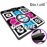 "Dance Dance Revolution DDRgame (Super Sensitive-No More Delay) PS1 /PS2 Super Deluxe Pad (Version 4.0) with 1\"" Foam Insert"