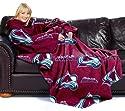 Colorado Avalanche NHL (Adult) Fleece Comfy Throw